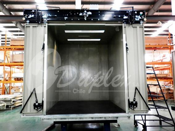 Montacargas Duplex fabricacion
