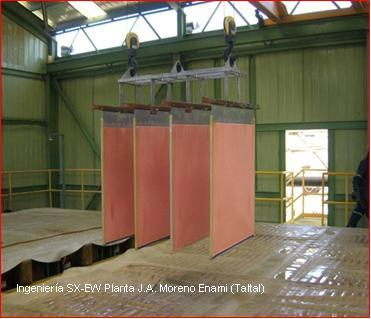 Ingeniería SX-EW Planta J.A. Moreno Enami
