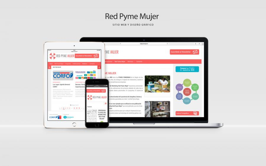 Diseño Web Red Pyme Mujer