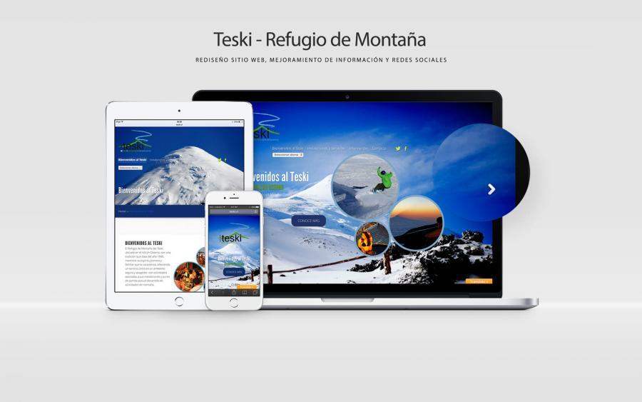 Diseño Web Teski